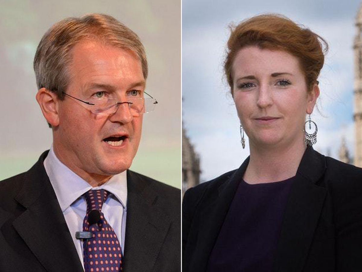 Owen Paterson and Louise Haigh