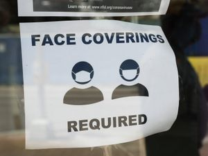 Face coverings could be required in shops again if the government's 'plan B' comes into force