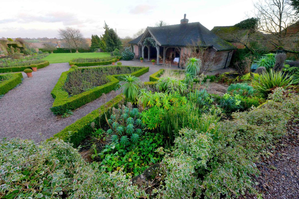 Goldstone Hall Hotel has a kitchen garden partnered with the Royal Horticultural Society