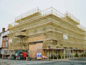 SOUTH COPYRIGHT SHROPSHIRE STAR JAMIE RICKETTS 07/10/2019 - Ludlow GV's - Ludlow Assembly Rooms which is undergoing a £1.8million refurbishment..