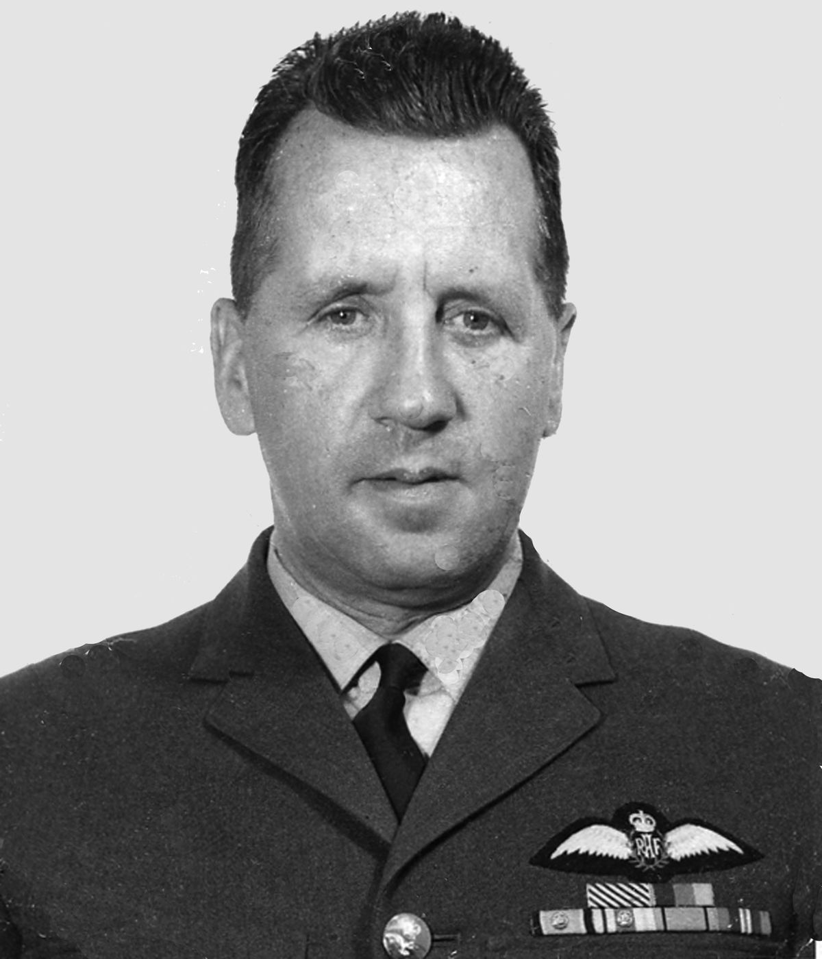 Allan Scott in his RAF days