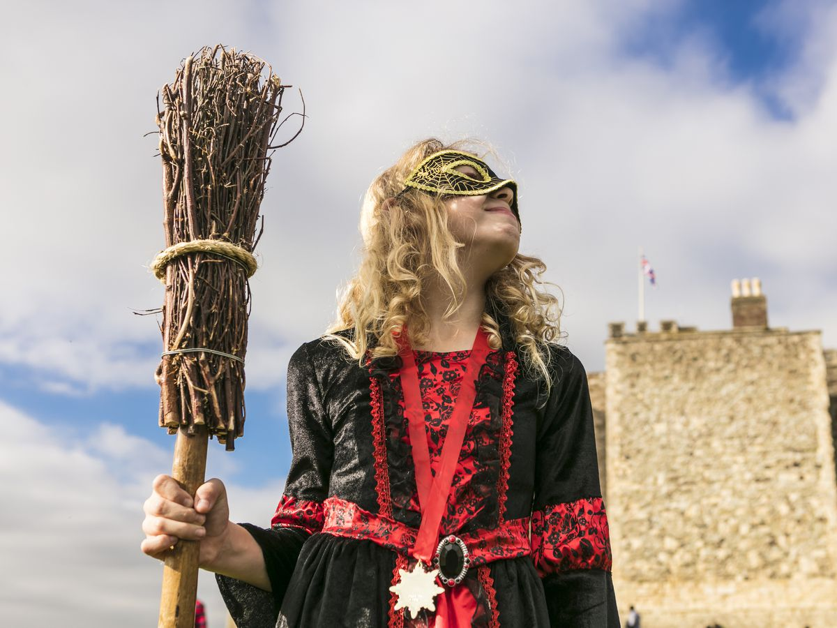 The Wizards of Once Halloween Quest at Stokesay Castle