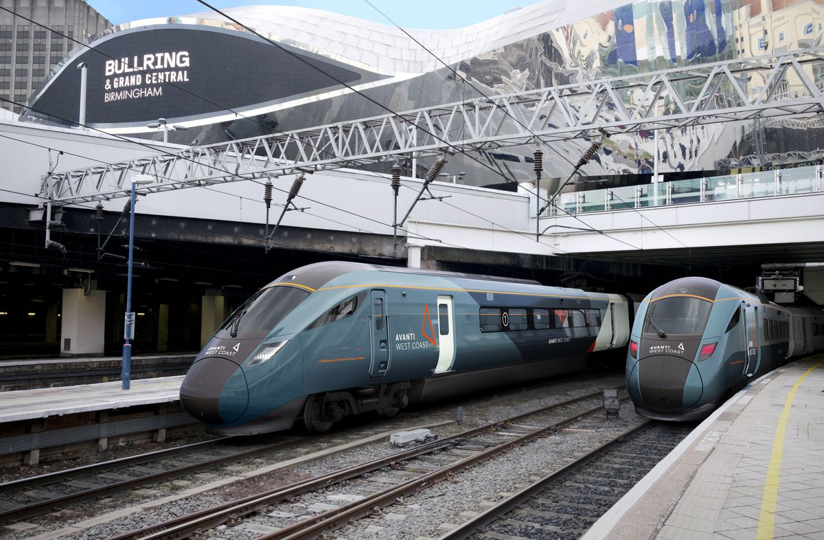 An artist's impression of how the new trains will look. Picture: Hitachi Rail Europe