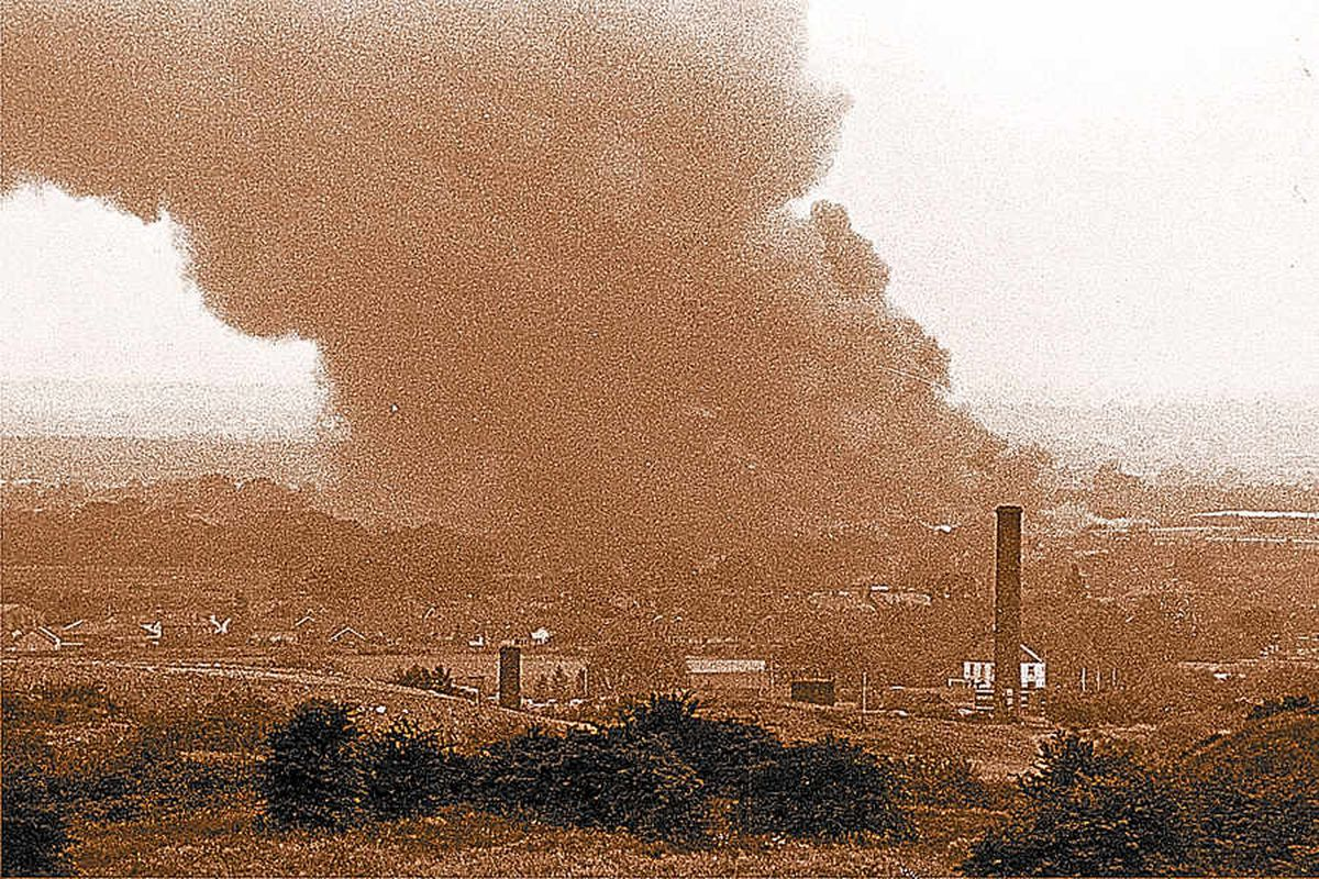 The fire at at COD Donnington in 1983