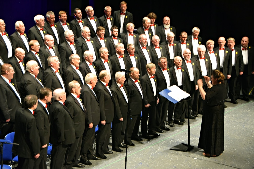 The Froncysyllte Male Voice Choir The Voices Of The Froncysyllte Male Voice Choir