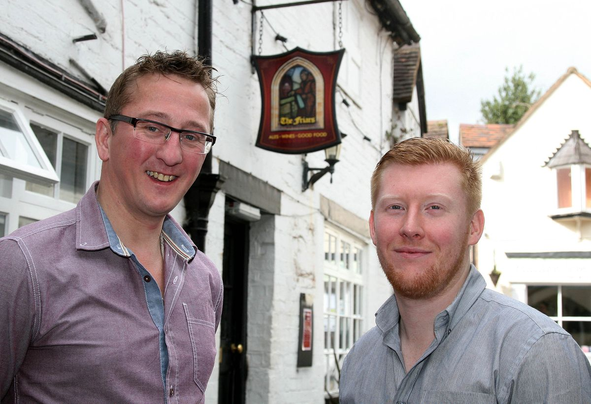 Owners James Knott and Tom Hughes