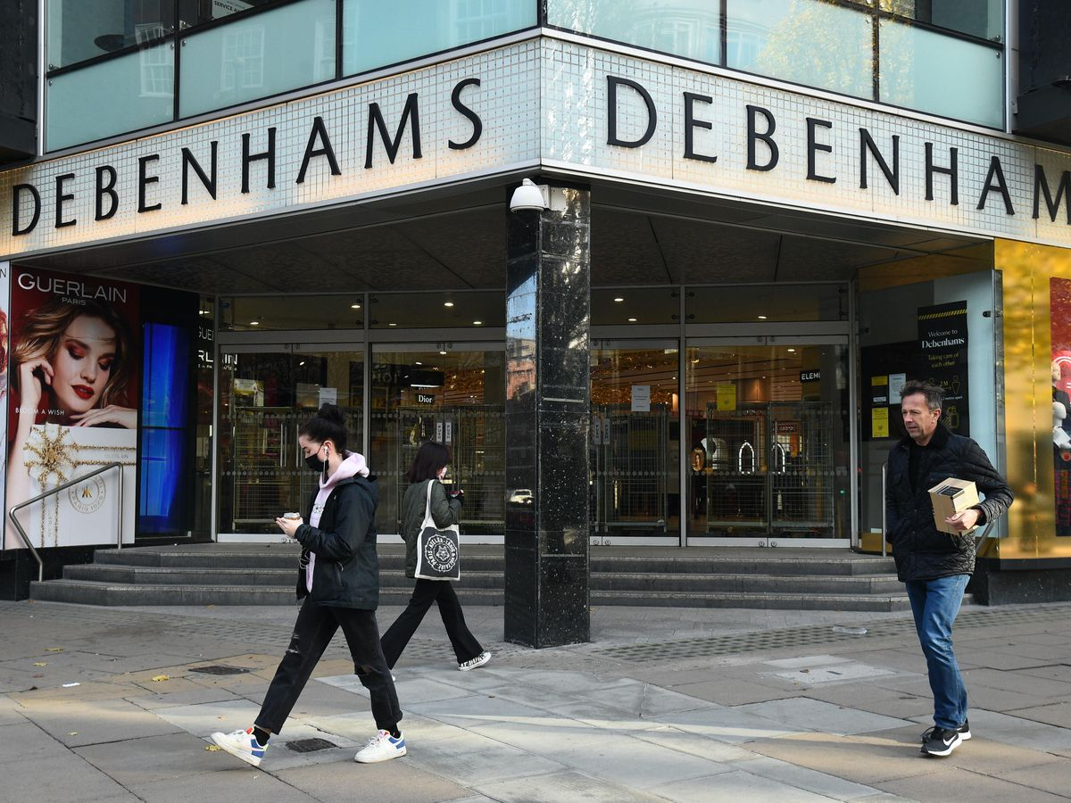 Debenhams faces liquidation
