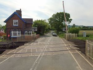 Craven Arms level crossing