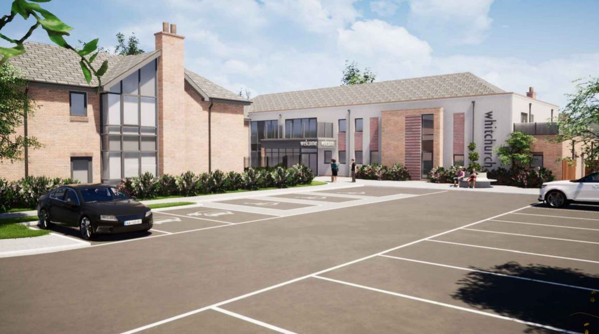 Designs by C Squared Architects show how the care home will look.