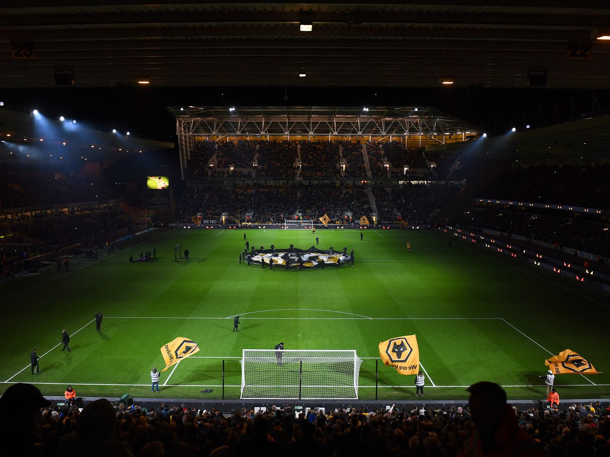 The incident happened at last night's match at Molineux. (© AMA/Sam Bagnall)