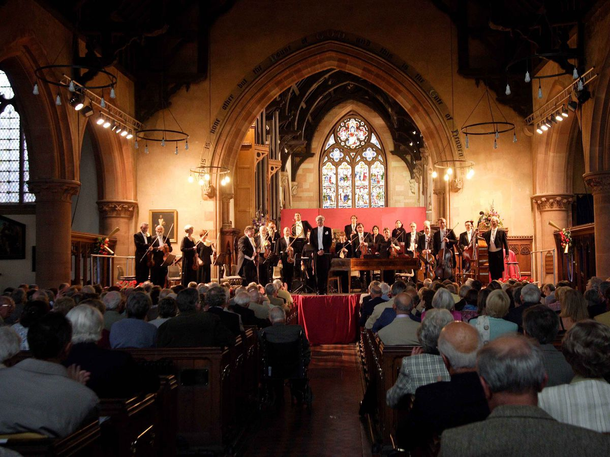 The church has hosted concerts for Bridgnorth's Haydn Festival