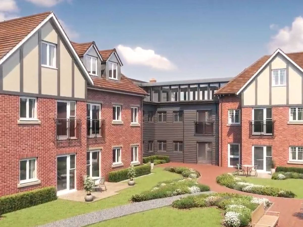 The Summerfield Place retirement complex. Photo: McCarthy and Stone/YouTube