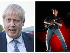 'F*** Boris': Tom Morello offers message to PM at festival performance