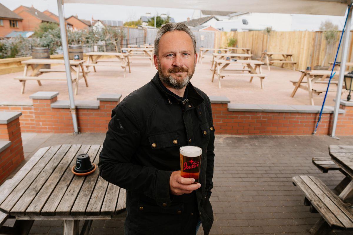 Darren Wood, landlord of The New Inn, Newport