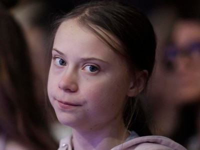 Greta Thunberg pushes back against Trump's 'prophets of doom' remark