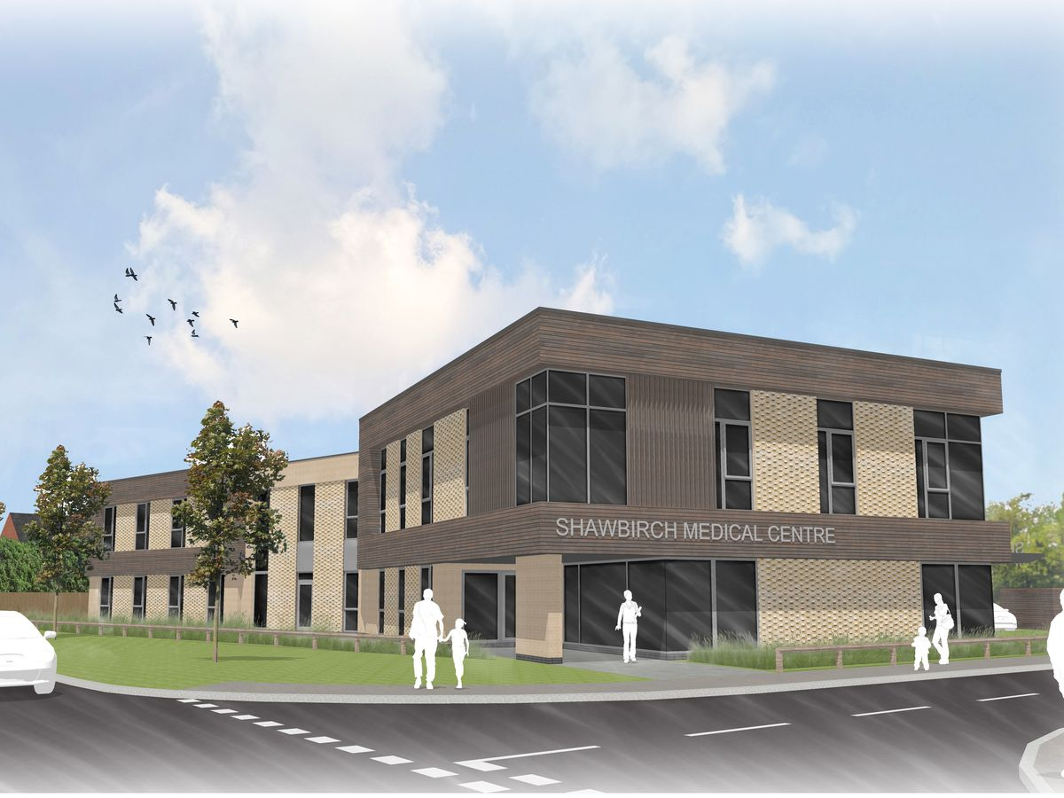 Artist's impression of the proposed new Shawbirch medical centre