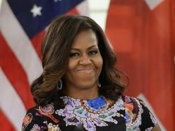 Michelle Obama attends fundraising dinner in Edinburgh