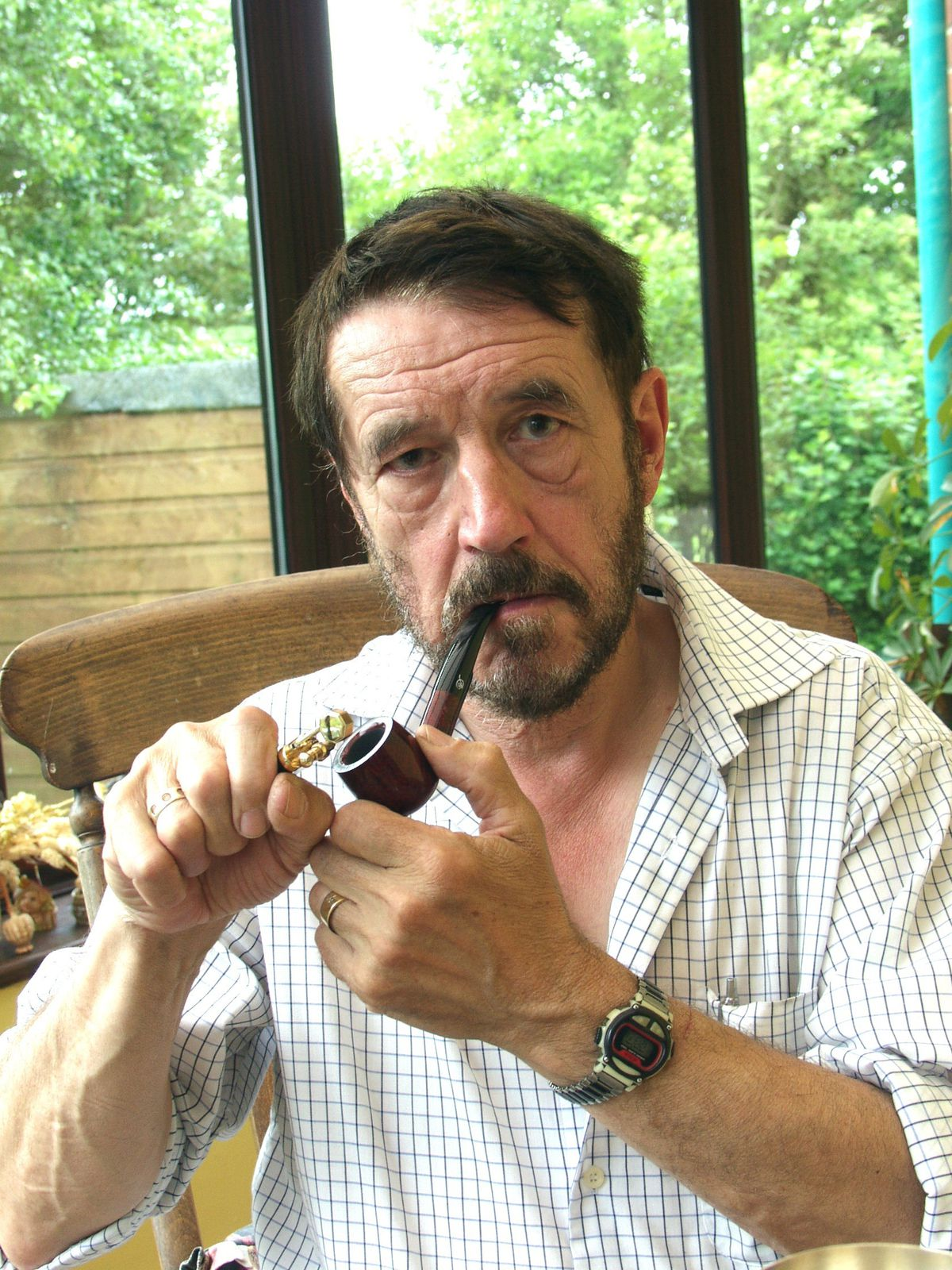 Shropshire author Guy Smith was British Pipe Smoking Champion in 1996 and 2003