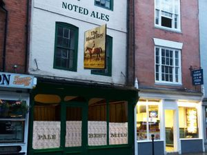 An artist's impression of how the Victorian-style pub would look on Ludlow's High Street
