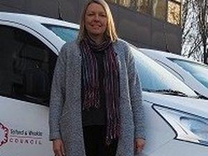 New electric van at Telford & Wrekin Council