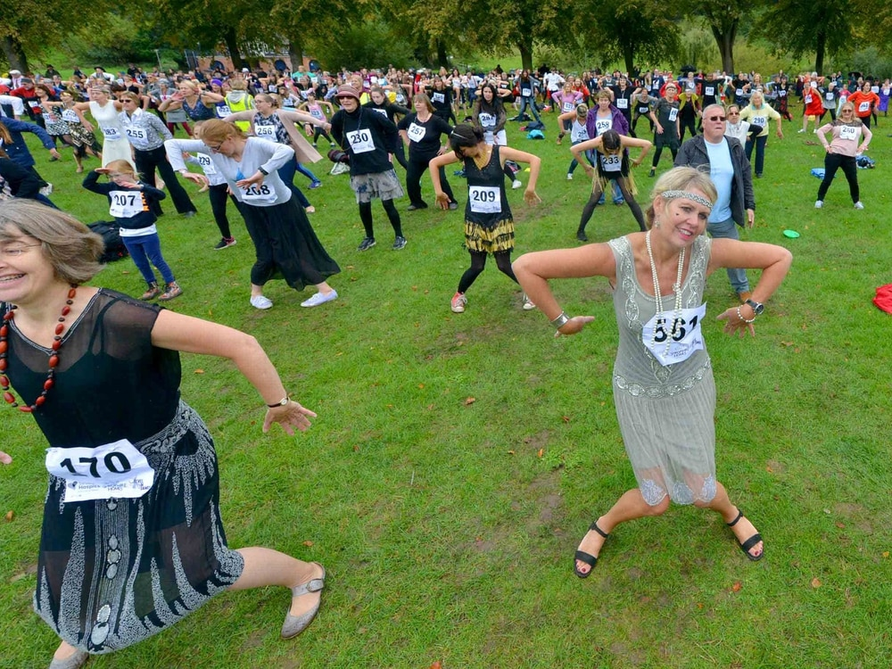 Watch: World record smashed as 1,078 dance the Charleston in Shrewsbury Quarry