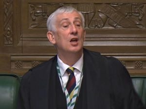 Speaker Sir Lindsay Hoyle (House of Commons/PA)