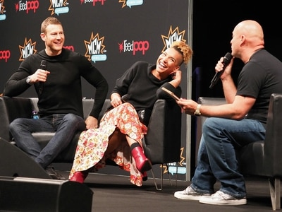 Tom Hopper, Emmy Raver-Lampman and more: Stars head to Birmingham for MCM Comic Con - in pictures
