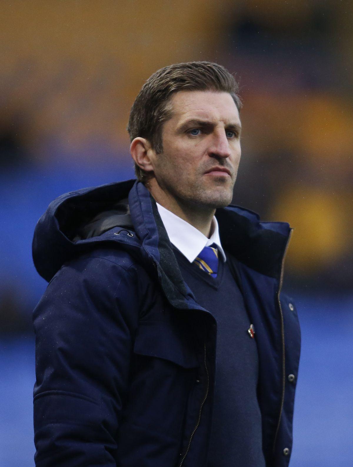 Shrewsbury boss Sam Ricketts Pic: AMA