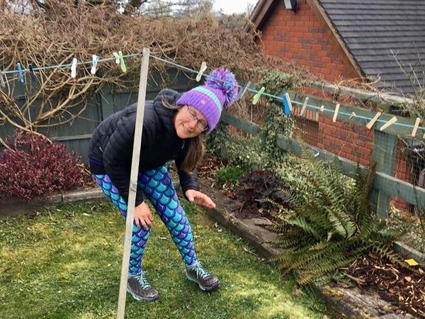 Garden mile challenge for running club