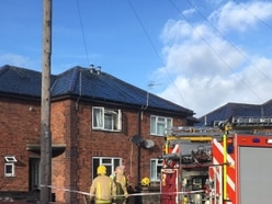 One person suffers smoke inhalation in Oswestry house fire