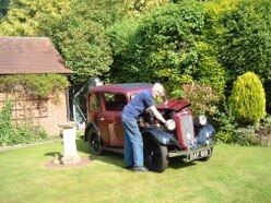 Austin Seven marks ruby show
