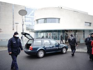 The car that hit the German Chancellery