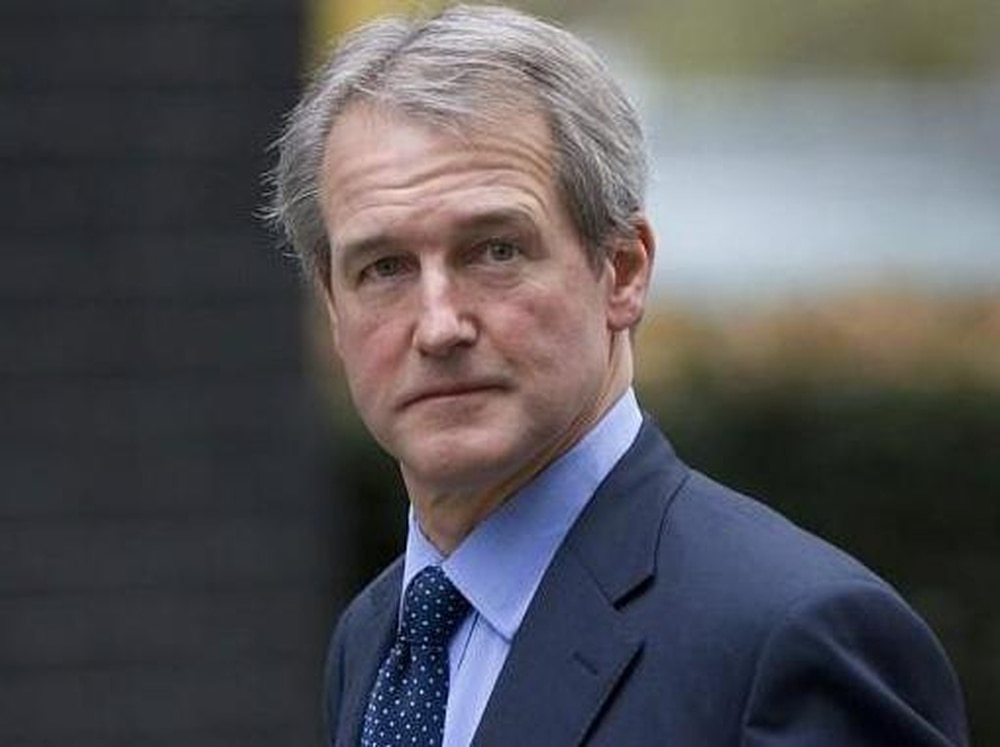 Owen Paterson MP is being treated at Gobowen's Orthopaedic Hospital
