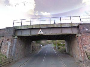 The railway bridge at Wellington Road / Jiggers Bank, Coalbrookdale