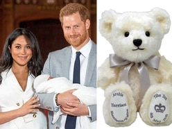 Teddy bear Archie is a right royal sell-out
