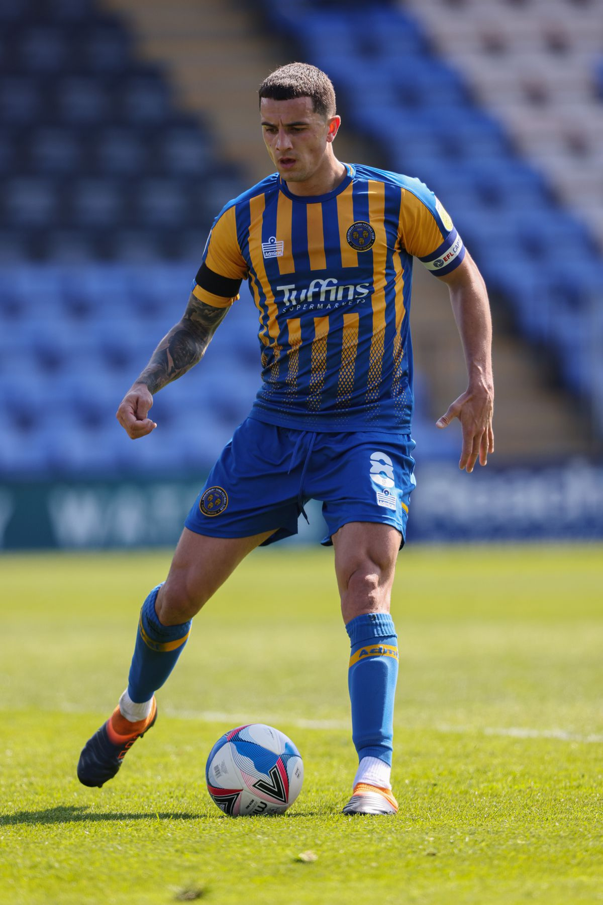 Oliver Norburn of Shrewsbury Town.