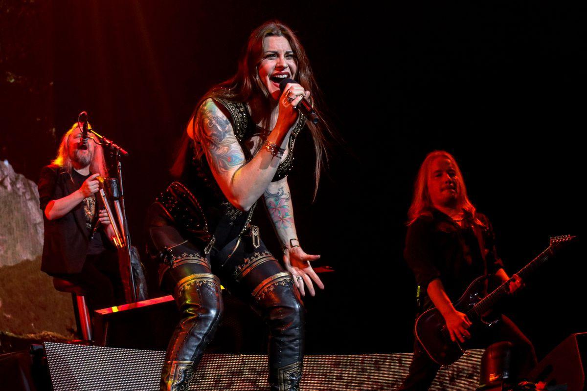 Nightwish brought their tour to Birmingham. Picture: Adriana Vasile