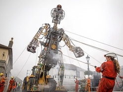 Colossal 'Man Engine' coming to Shropshire - watch the video