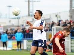 Marcus Dinanga feels at home at AFC Telford