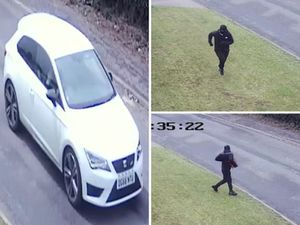 These CCTV stills of suspects were released in the aftermath of the burglary