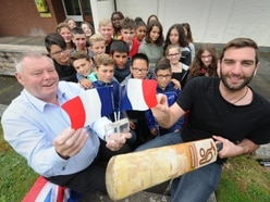 French visitors have wicket time in Shifnal