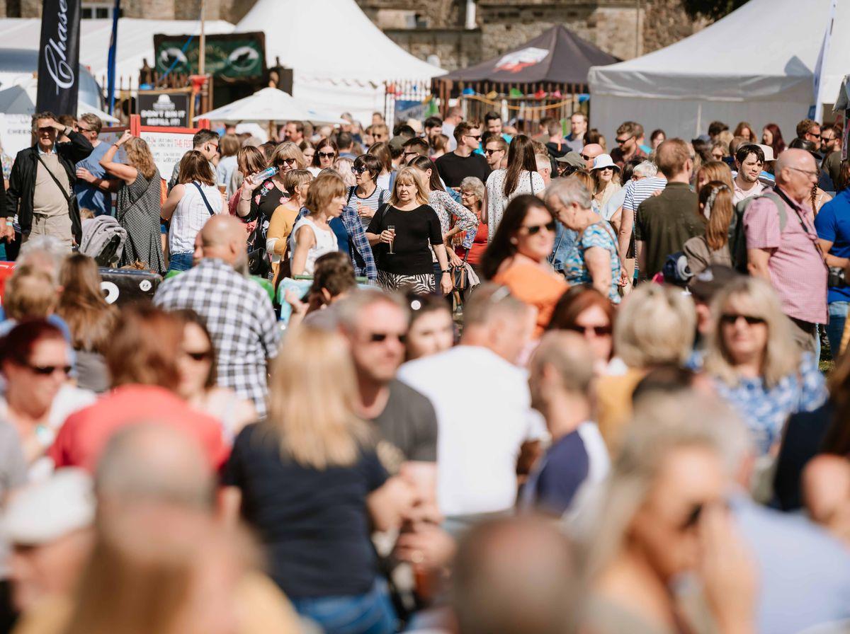Ludlow Food Festival in 2019