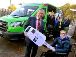 Donation just the ticket for Telford pupils