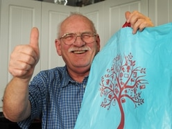 Frank's search for Good Samaritan who paid for his shopping at till