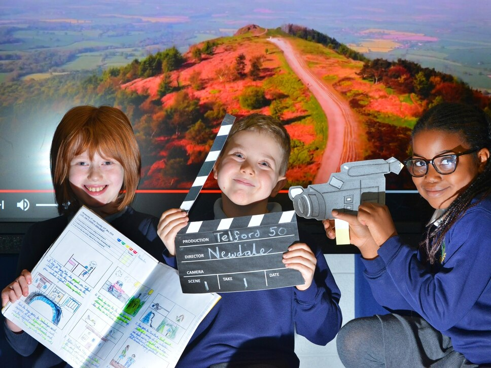 Telford in the spotlight as kids make celebratory film - watch their video here