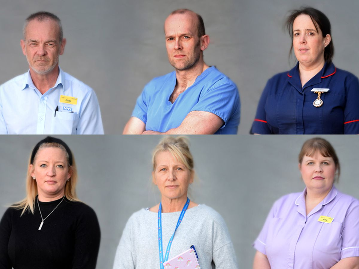 From cleaners to porters to supply managers and consultants: These are our NHS heroes
