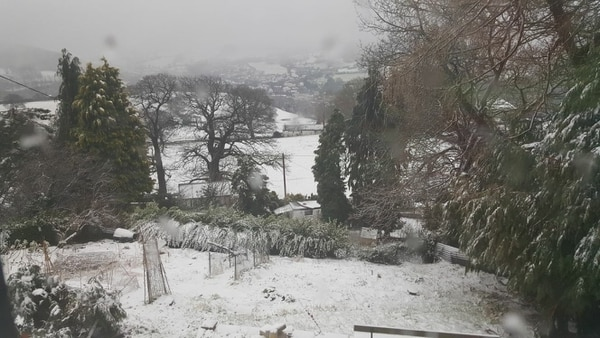 Flood alerts in Wales after bank holiday snow