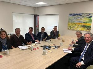 Round the table talks over cross border road improvements