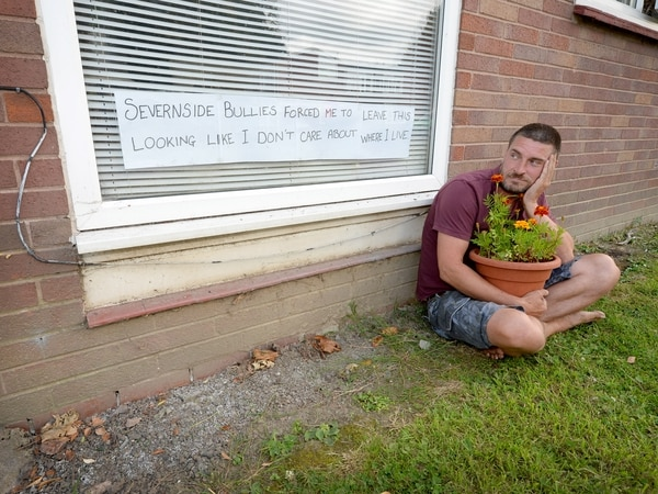 Shrewsbury gardener blooming fed up after being ordered to remove pots