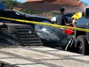 Two children killed as drag racer crashes into spectators